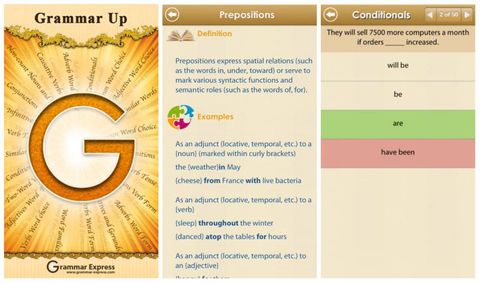 Grammar Up Educational App